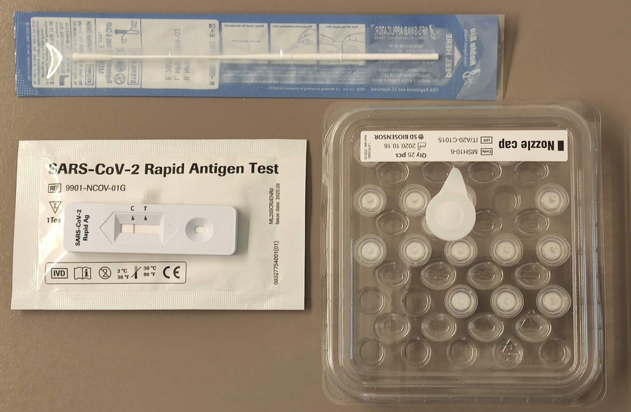 test antigenos